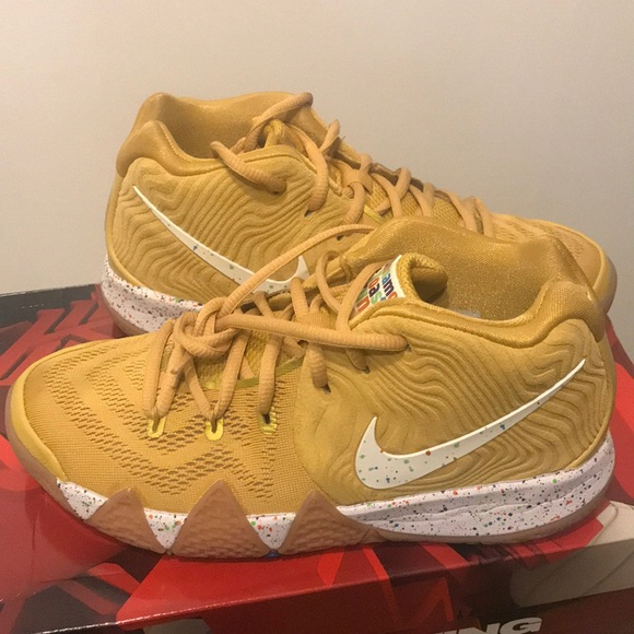 best sneakers 456cd d8856 KYRIE 4 (GS) Cinnamon Toast Crunch✨